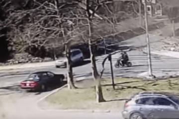 Moped Accident Newport RI Memorial Blvd