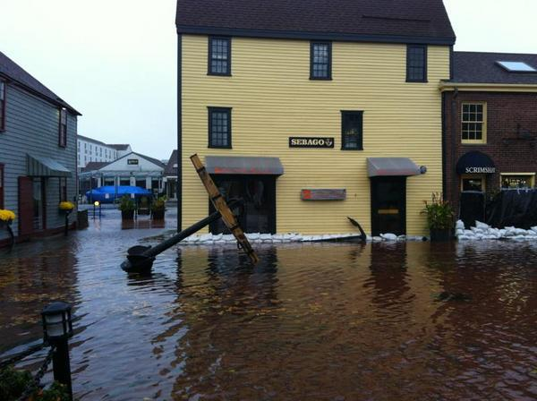 Flooding Newport RI