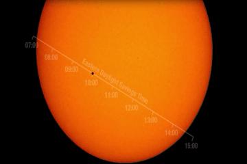mercury sailing past sun