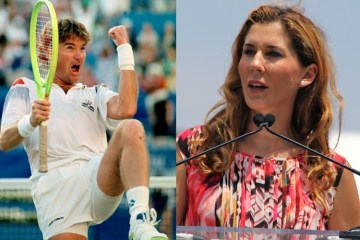 Jimmy Connors Monica Seles Tennis Hall of Fame Newport RI