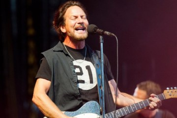 Pearl Jam Fenway Park Photo