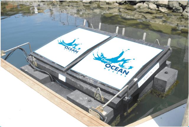 newport harbor trash skimmer project