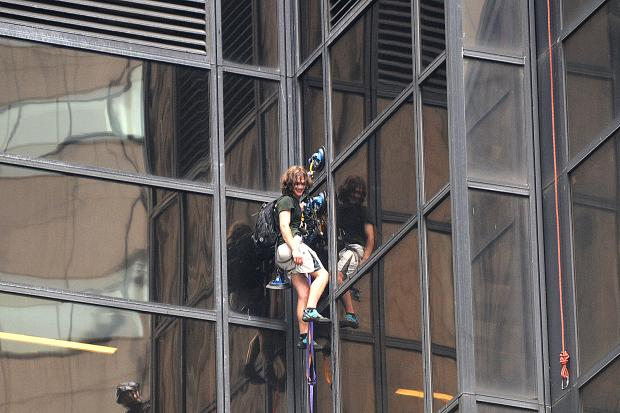 trump tower suction cups