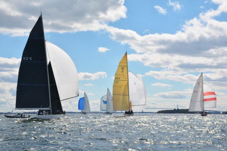 12-meters sailing newport ri