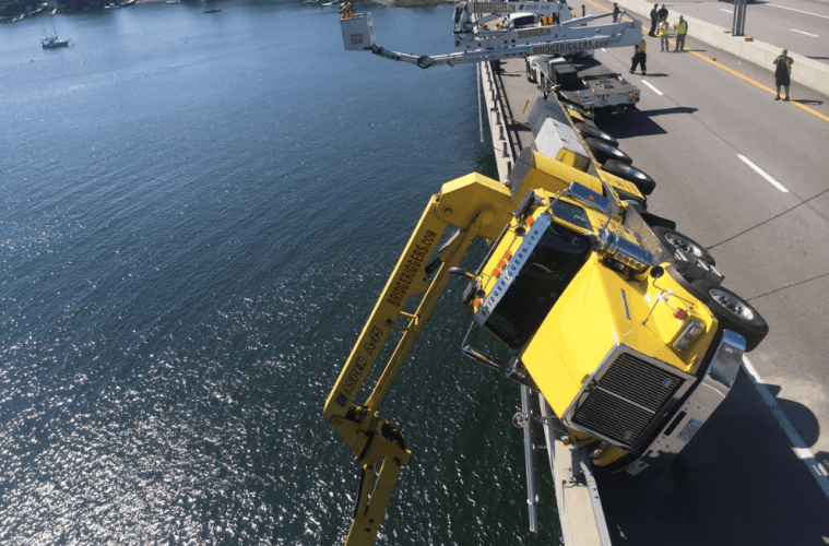 sakonnet Bridge Crane