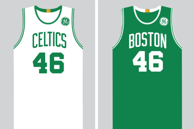 Boston Celtics jersey to feature General Electric logo next season ... a6228ae82