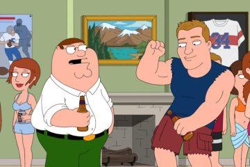 Family Guy Rob Gronkowski