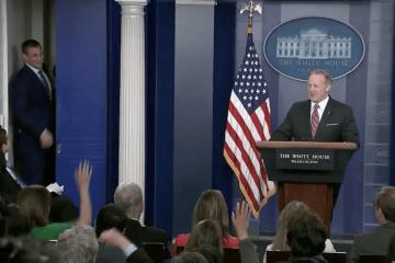Rob Gronkowski White House Press Briefing Sean Spicer