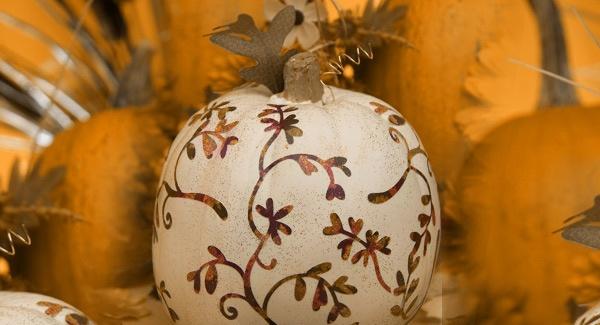 decoupage-pumpkin