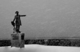 Rochambeau snow Newport ri