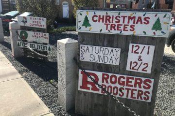Rogers High Christmas Wreath