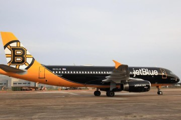 Bear Force One Bruins Jet Blue