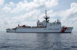 Coast guard cutter spencer