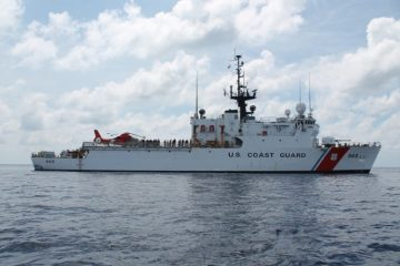 Coast guard cutter spencer