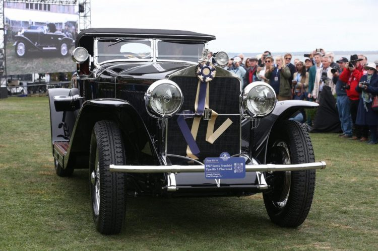 1927 ISOTTA FRASCHINI TIPO 8A S FLEETWOOD