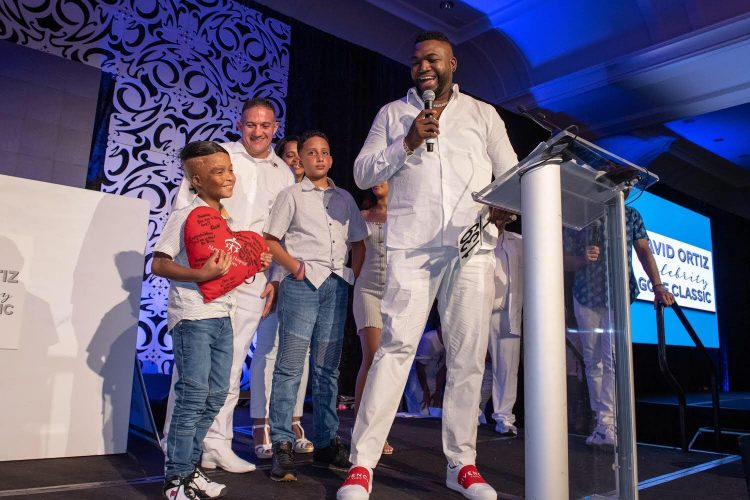 David Ortiz Childrens Fund Auction
