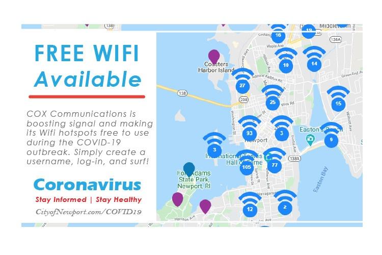 Free wifi newport