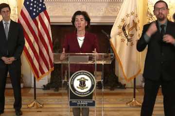 New COVID-19 cases in Rhode Island