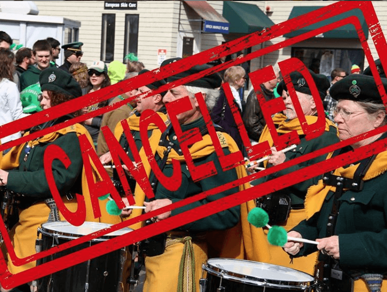 Newport St. Patrick's Day Canceled