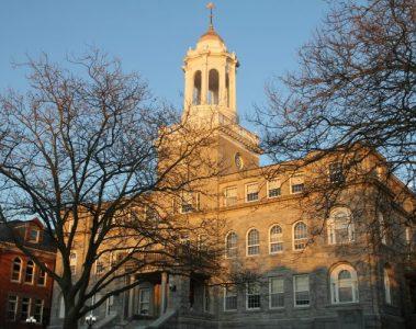 Newport RI City Hall Broadway