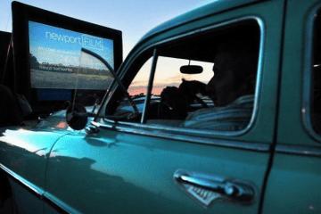 newportFILM Drive-In Movie Series