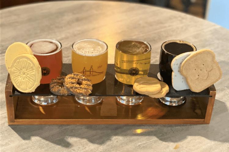 Newport Craft Beer and Girl Scout cookies