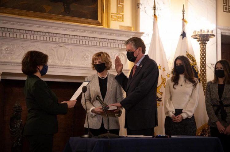 Governor Dan McKee Rhode Island