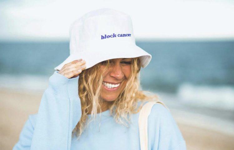 Elizabeth Beisel Block Cancer Swim