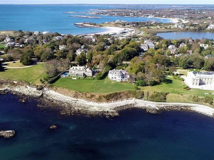 Ocean View mansion for Sale Newport, RI 662 Bellevue