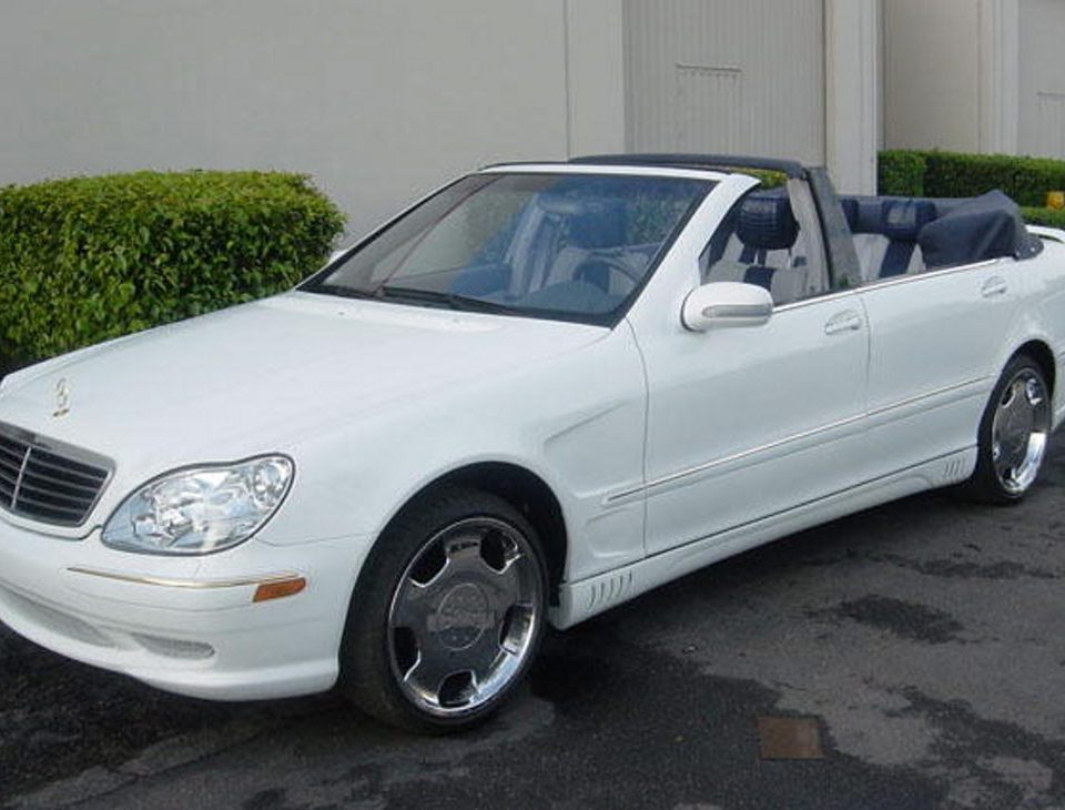 Mercedes Benz S Convertible