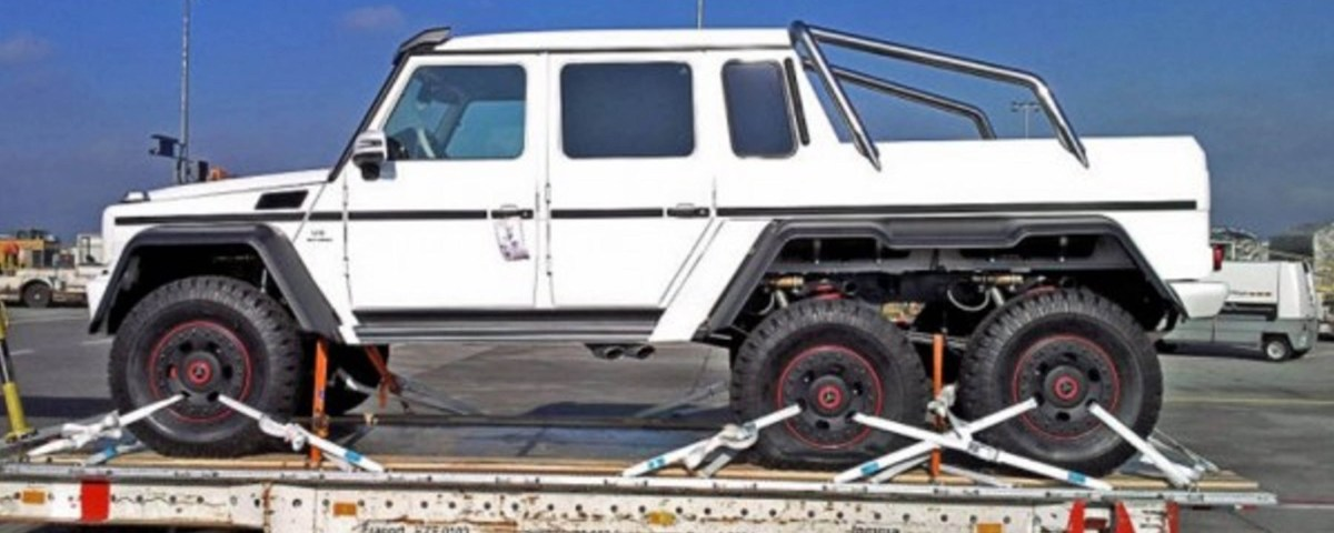 Armored Mercedes G63 AMG 6X6