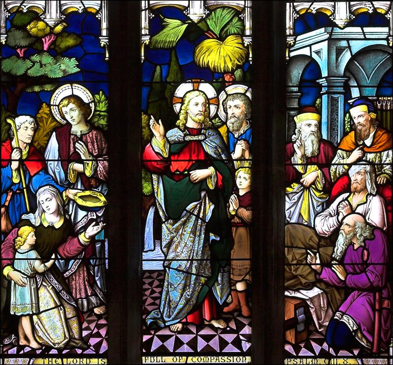 Christ the Compassion Window