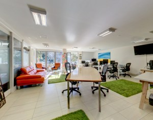 Open plan shared Office space