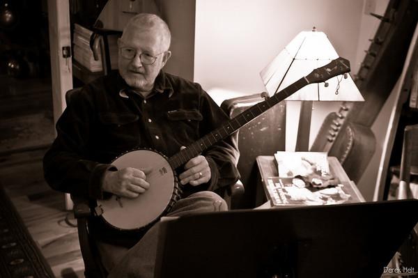 Gene with banjo
