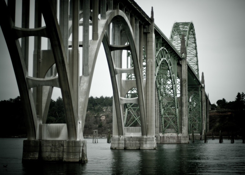Yaquina Bay Bridge Newport OR USA