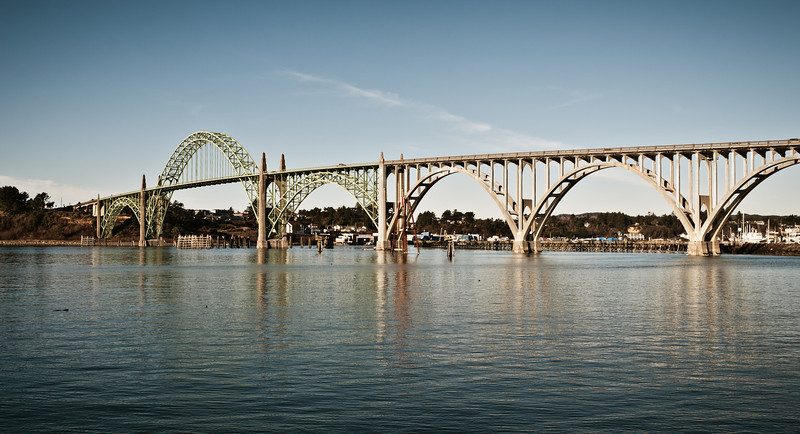 Yaquina Bay and Bridge
