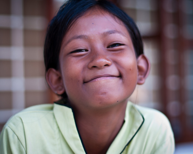 Khmer Girl Smiling
