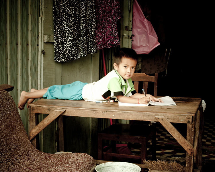 Boy in Battambang