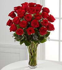 Classic Red Rose Boquet