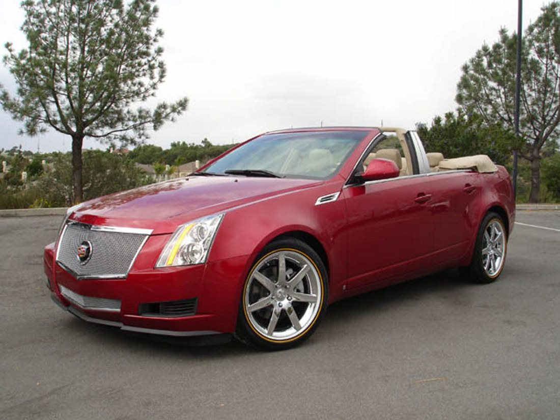 Cadillac CTS Convertible  Newport Specialty Cars
