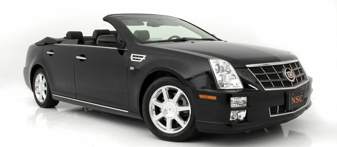 cadillac sts convertible newport specialty cars. Black Bedroom Furniture Sets. Home Design Ideas