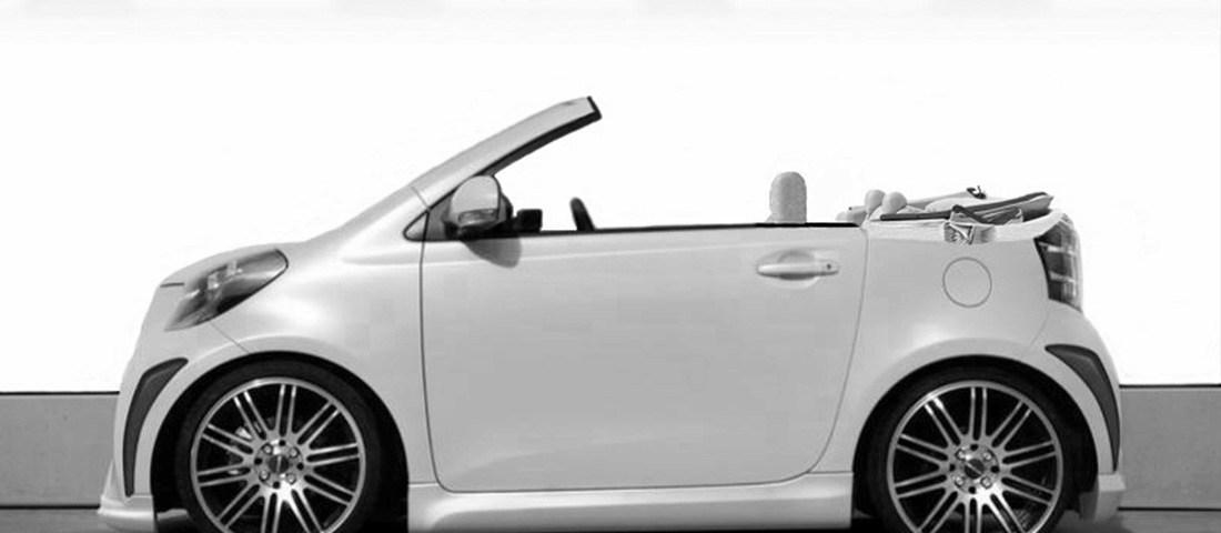 scion iq convertible newport specialty cars. Black Bedroom Furniture Sets. Home Design Ideas