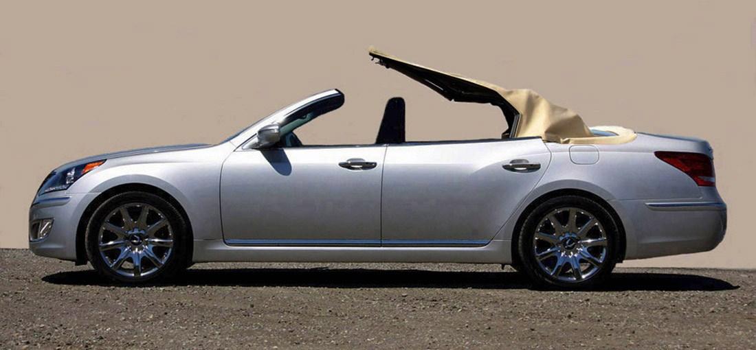 Hyundai Equus Convertible Newport Specialty Cars