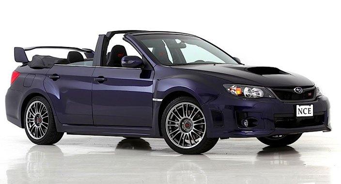 Subaru WRX Convertible