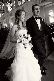 Platinum Wedding in Newport Makes a Splash