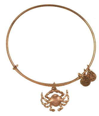 Totally Cute Crustacean! The Alex and Ani July Bangle is Adorable–and on Sale!