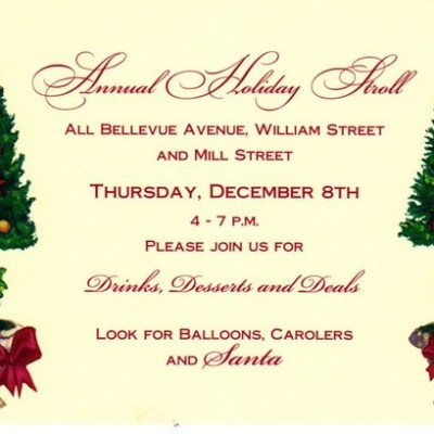 TONIGHT! Drinks, Desserts & Deals on Bellevue Avenue's Annual Holiday Stroll