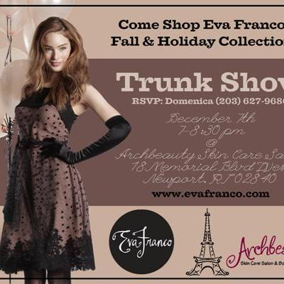 TONIGHT! Eva Franco Trunk Show at ArchBeauty