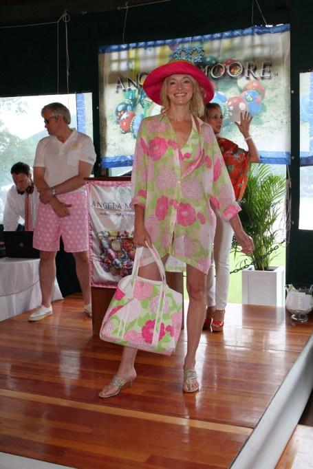 Carolyn Van Petten wearing Manuel Canovas