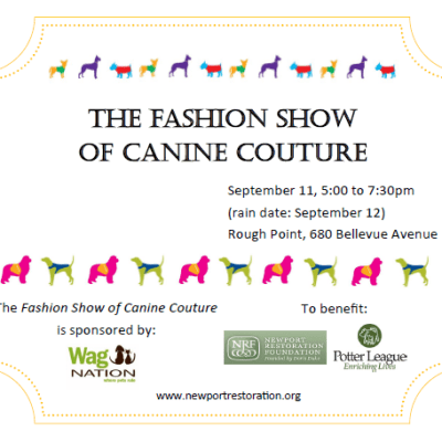 This Evening: Darlings, Doggies and Designer Duds